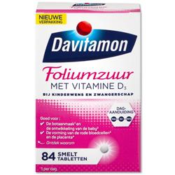 Davitamon Foliumzuur met vitamine D