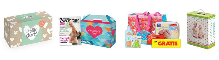 Gratis babydozen en babypakketten